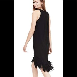 Banana Republic fringe hem dress